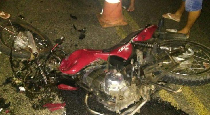 Tragédia: Quatro pessoas morrem em acidente com duas motos em Alto do Rodrigues